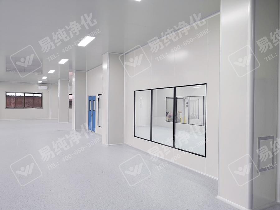 整体工程采用手工板装修改造,吊顶采用手工单玻镁净化板,墙体采用手工岩棉板.jpg