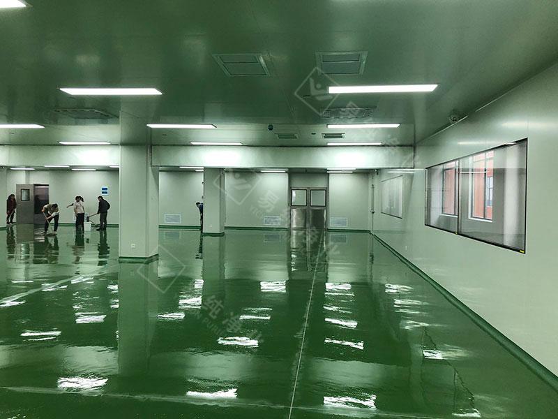 靖江某食品公司肉制品十万级净化车间案例分享